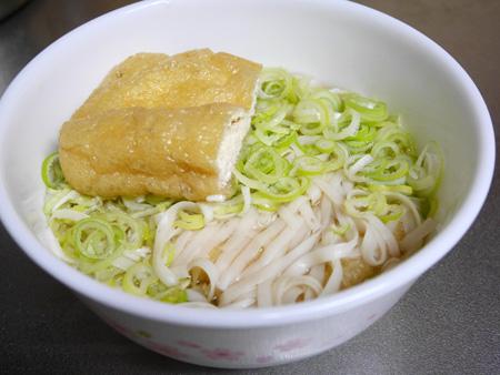 ( 紀文の糖質0麺をうどんに )