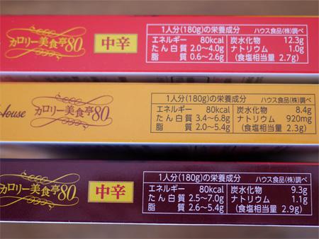 ( ハウス カロリー美食亭80 )