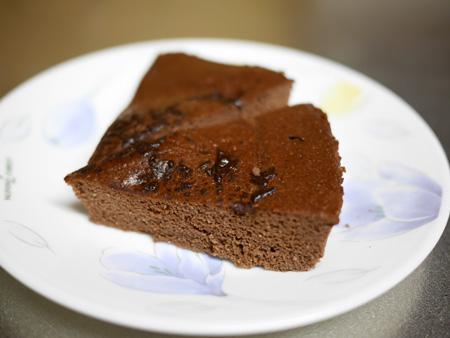 ( レンジでチン、おからパウンドケーキ )