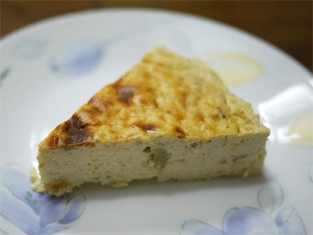 ( アボカドと豆腐のチーズケーキ )