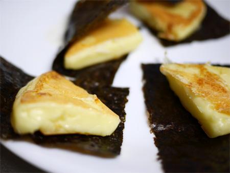 ( 6Pチーズの磯辺焼き )
