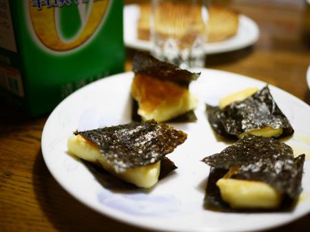 ( 6Pチーズの磯べまき )