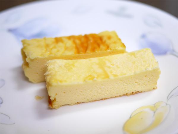 ( 低糖質なチーズケーキです )