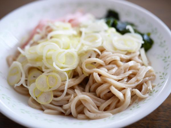 ( こんにゃく冷やしそば 食べました )