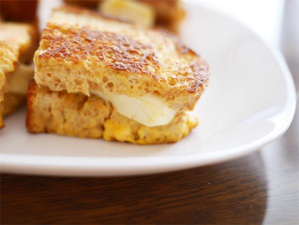 ( チーズデザートで簡単フレンチトースト作りました )