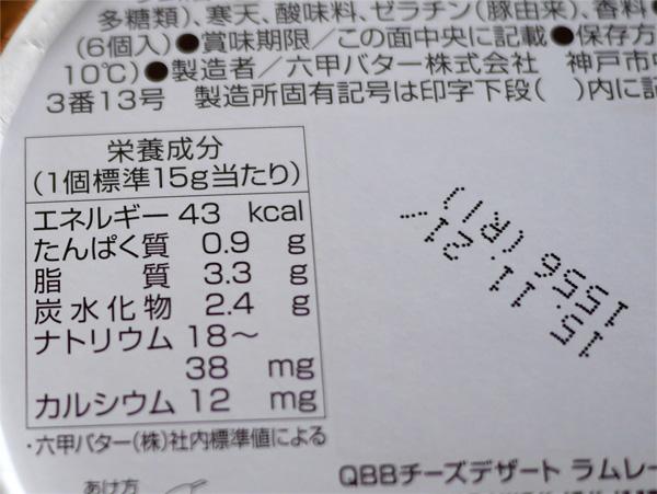 ( 贅沢ナッツの栄養成分 )