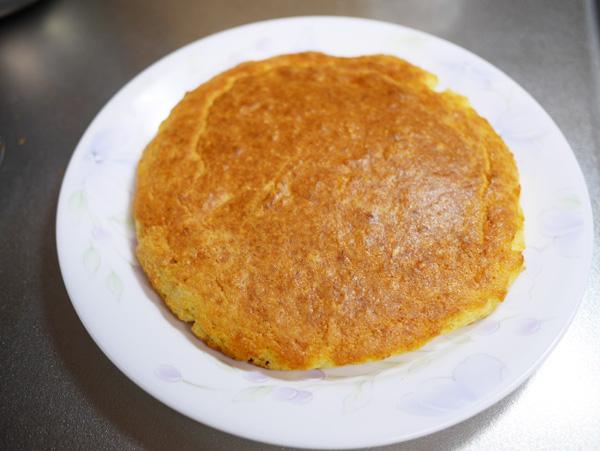 ( 大豆粉&アーモンドパウダーのスポンジケーキ )