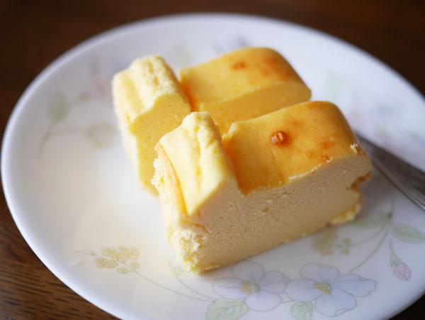 ( 幸せチーズケーキ、ふんわり♪ )