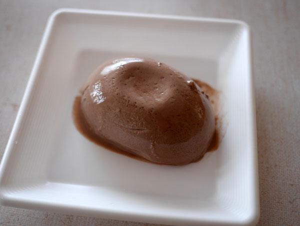( マスカルポーネのようなナチュラル豆腐チョコレート味 )