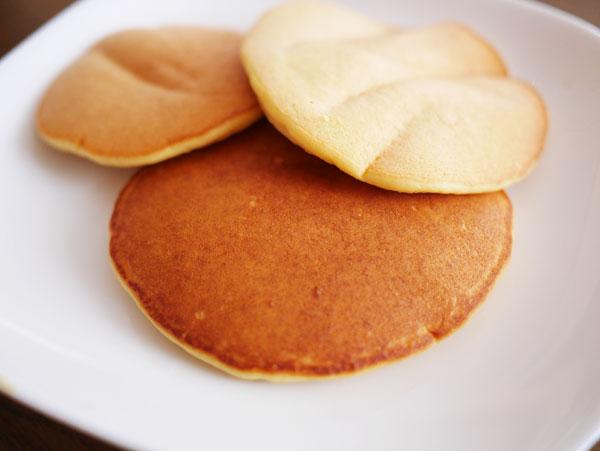 ( 糖質制限 おからパウダーのパンケーキ )