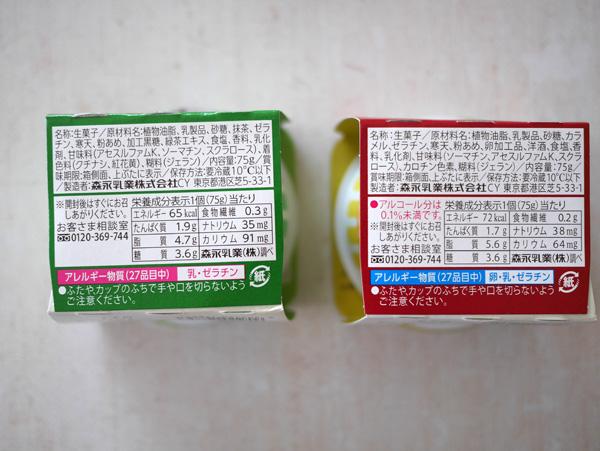 ( おいしい低糖質プリン 抹茶・カスタード )