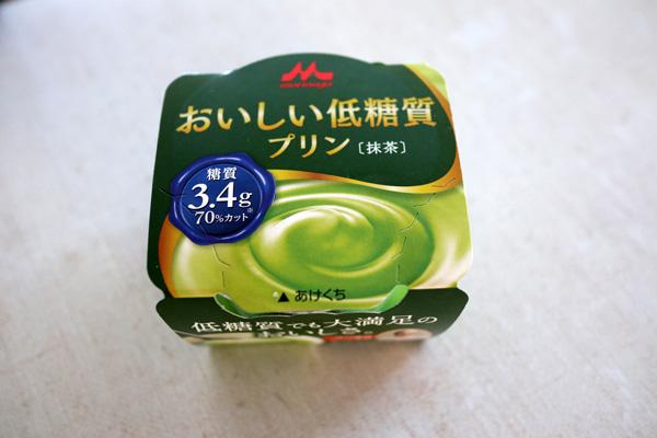( おいしい低糖質プリン 抹茶 )